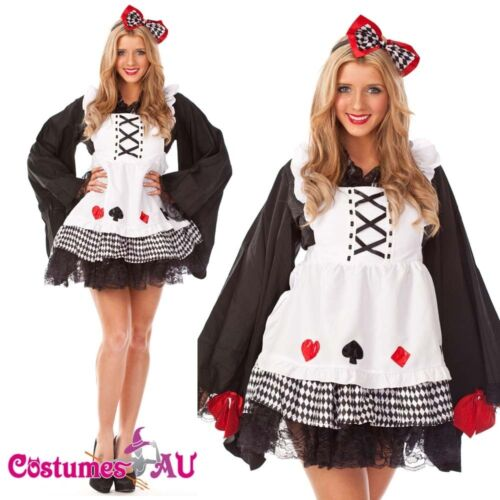 Ladies Japan Doll Ginger Fancy Dress Up Party Halloween Costume