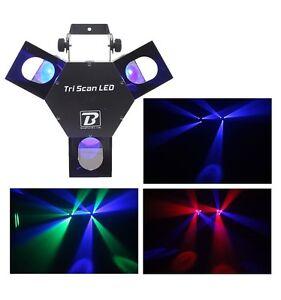 Juegos-de-luces-Tri-Scan-Del-Boomtone-DJ-Triscan-Led