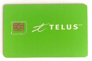 Telus-Micro-Sim-Card-Unactive-prepaid-postpaid-Canada-4G-LTE