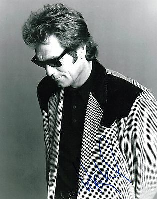 Huey Lewis Signed 8x10 Photo Proof H6 Coa A Plastic Case Is Compartmentalized For Safe Storage Honest Gfa Power Of Love