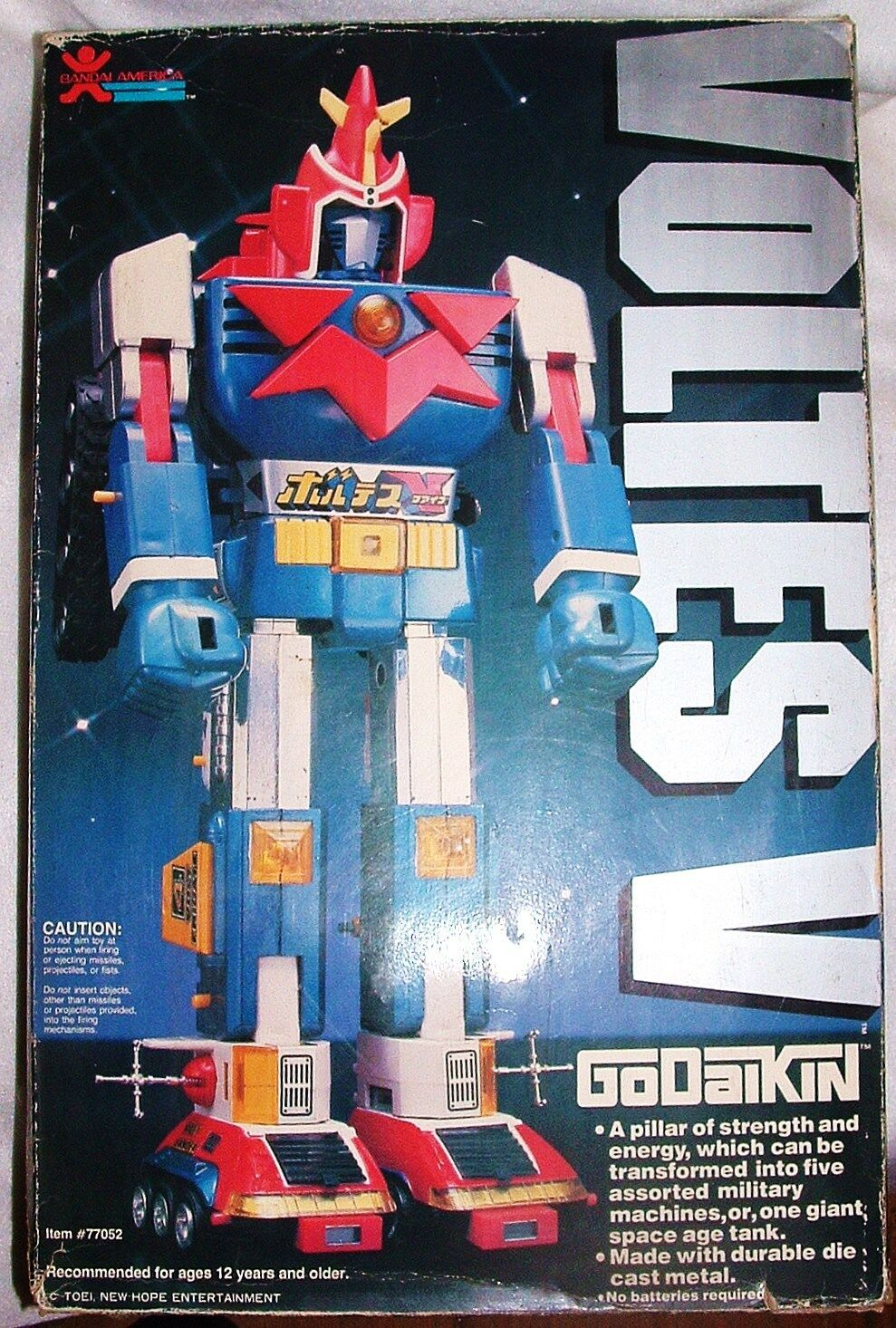 Voltes   orig godaikin druckguss shogun roboter transformator wacesrs mint in boxjapan