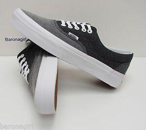 35980674ef Vans Men s Era Suiting Mix Black True White VN-0W3CDN9 Size  6.5