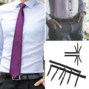 Men-Shirt-Stays-Keep-Holder-Elastic-Leg-Garters-Thigh-Garter-Belt-Suspender-1pc
