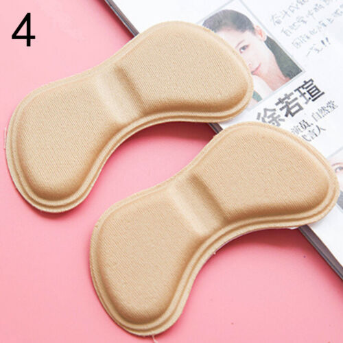 1Pair Sticky Fabric Shoes Back Heel Inserts Insoles Pads Cushion Liner Grips