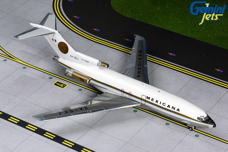Gemini Jets 1 1 200 Mexicana Boeing 727-100 XA-SEJ G2MXA810 IN STOCK