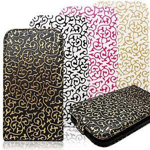 Design-Klapp-Handy-Tasche-Flip-Etui-Schutz-Hulle-Hard-Case-Clip-Cover-Schale-Bag