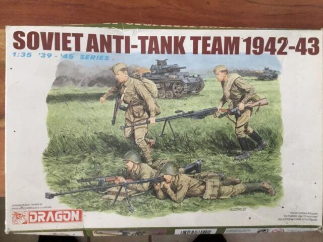 DRAGON 6049 SOVIET ANTI-TANK TEAM 1942-43 1:35