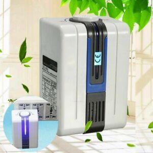 LED Purificatore aria Ozono Pulitore fresco pulito Ionizer PER UFFICIO CASA LIVING ROOM