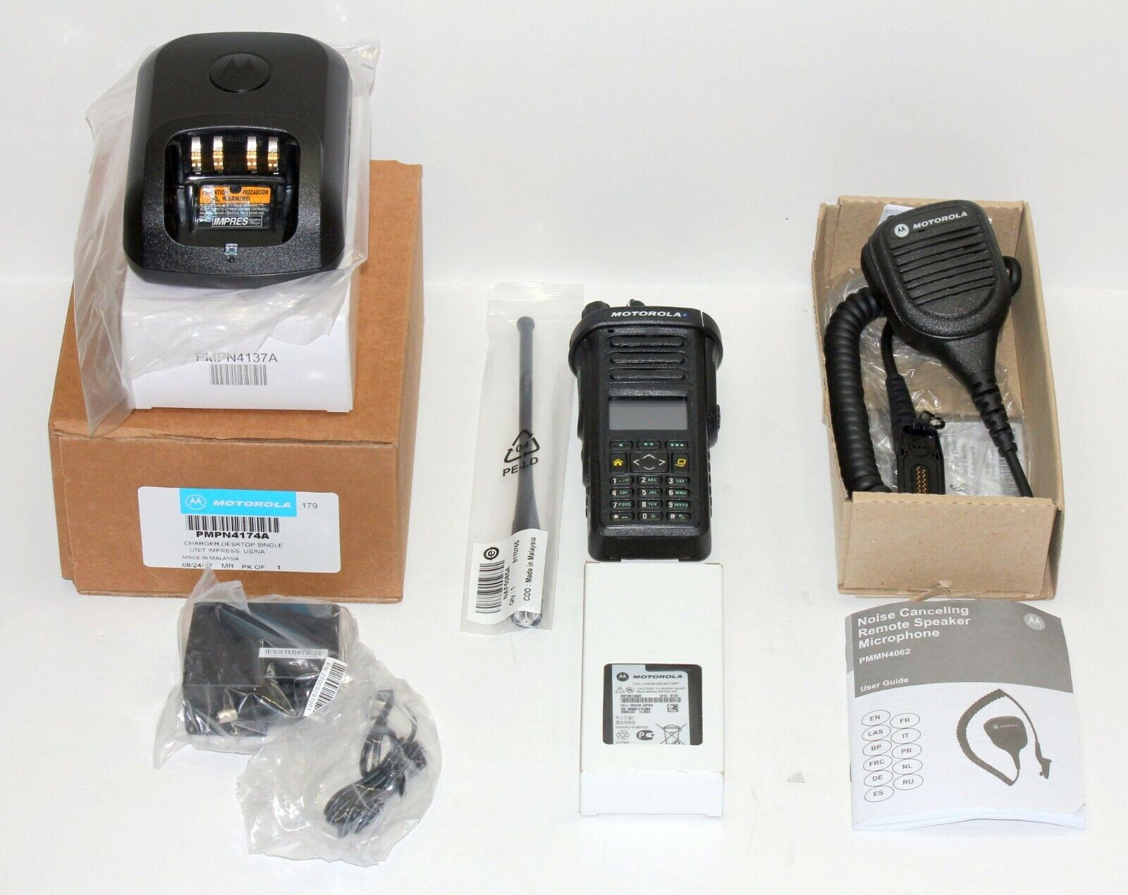 TESTED MOTOROLA APX APX4000 DIGITAL RADIO 700/800 MHZ P25 TDMA  BLUETOOTH AES . Available Now for 1659.99