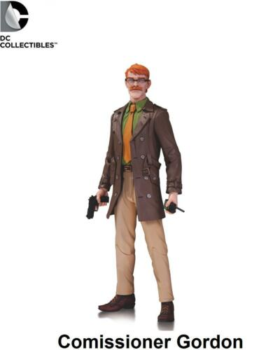 DC Comics Designer Series Greg Capullo Comissioner Gordon Action Figure Batman
