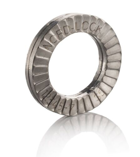 10 x Genuine Nord-Lock Wedge Lock Stainless Steel Washers NL5ss For M5 Bolts