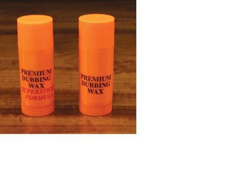 "WAPSI DUBBING WAX SET  Regular /& Super Sticky  /""the standard for dubbing wax/"""