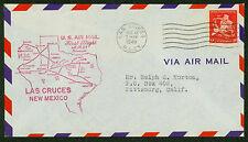 1948 FIRST FLIGHT AM 64 - LAS CRUCES, NM TO EL PASO, TX - C38   (ESP#1818)