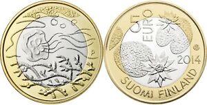Finlande 5 euro 2014 - Nature Nordique - Eau UNC