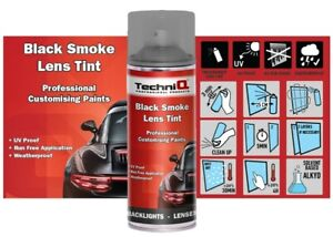 BACK-TAIL-LIGHT-LENS-SPRAY-TINT-TINTING-SMOKE-PAINT-BLACK-400ML-Aerosol-Rear