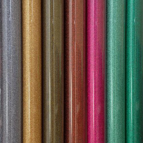 Hierro-en Glitter Vinilo Hoja 20cm X 25cm En Tela Ropa transferencia Hot-Fix Hot