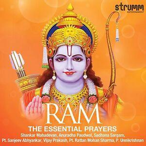 Ram-The-Essential-Prayers-Shankar-Mahadevan-Anuradha-Paudwal-Etc-Original-CD