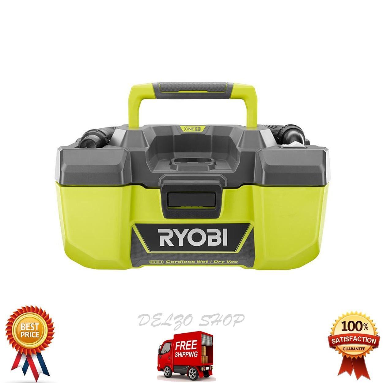NEW Ryobi Wet Dry Vacuum Blower ONE+ 18V 3 Gal. Built-In Accessory Storage P3240