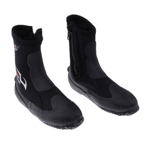 Heavy Duty 5mm Boot Scuba Dive Water Sports Snorkeling Booties Wetsuit Boots