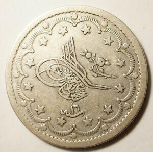TURQUIE-20-KURUSH-ARGENT-1255-16