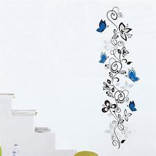 3D Purple Wisteria 534 Wall Stickers Vinyl Murals Wall Print Decal Art AJ STORE