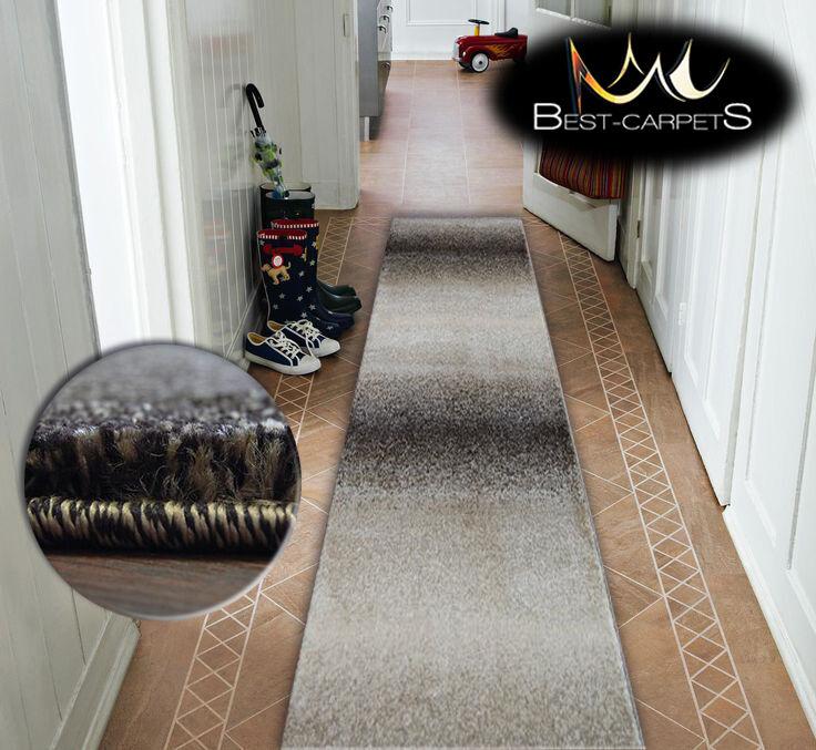 Très épais hall runner shadow 8621 8621 8621 largeur 70-120cm extra long soft densément rugs | De Première Qualité  2206e1