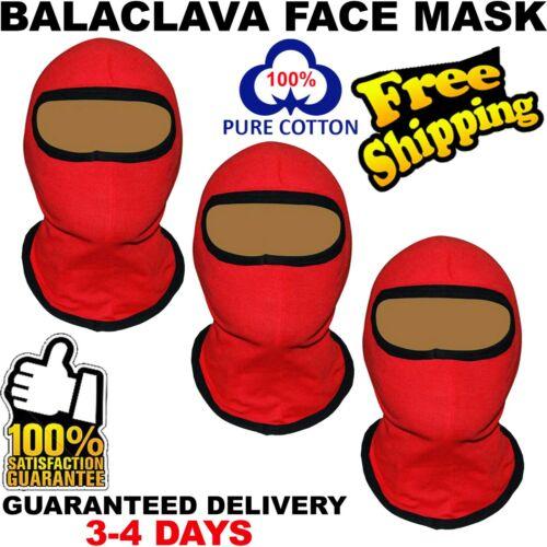 3 Face Mask Sun Shield Neck Gaiter Balaclava Neckerchief Bandana Headband SPF40