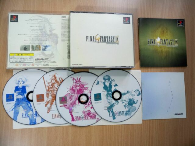 PS1 Final Fantasy IX (9) (Japan Ver.) SQUARESOFT GAME SONY PLAYSTATION 1