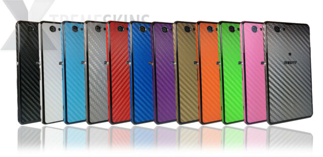 Carbon Fibre Skin For SONY XPERIA Z1 & Z1 COMPACT Decal Wrap Cover Case