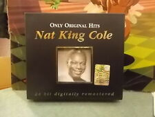 """NAT KING COLE """" ONLY ORIGINAL HITS """" 2CD 2002"""