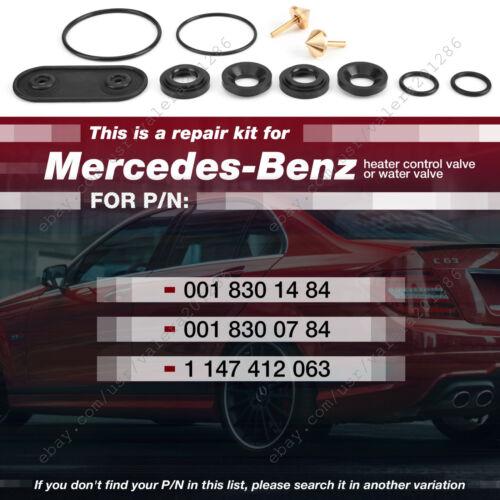 Mercedes-Benz Heater Valve Repair Kit W140 C140 Rebuild Kit 0018301484