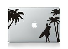 "Beach Surfer Laptop Apple Macbook Decal Sticker Macbook Air/Pro/Retina 13""15""17"""