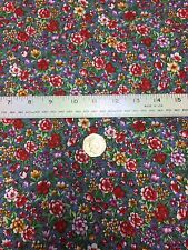 Fabric Freedom 100% Cotton 'Flower Burst' Craft & Fashion Fabric Material