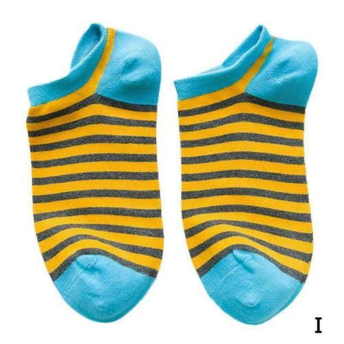 Fashion 1 Pair Cotton Blend Printed Men Women Unisex Ankle Socks Cute G3H6