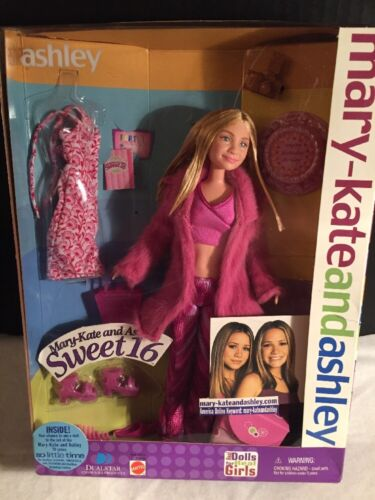 2001 MARY KATE AND ASHLEY SWEET 16 ASHLEY BARBIE DOLL