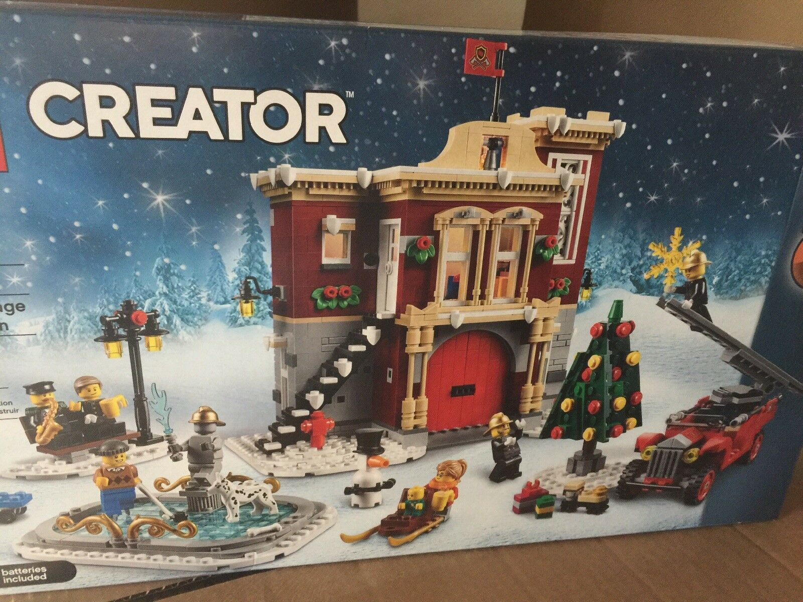 LEGO Creator Expert 10263 Winter Village Fire Station  1,166 Pieces