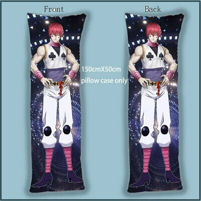 Anime Dakimakura Body Pillow Case  hunter x hunter Killua Zoldyck cover 150x50cm