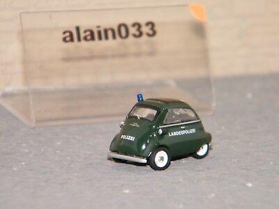 """452632400 Schuco 1:87 BMW Isetta  /""""Landespolizei/"""" Art.-Nr"""