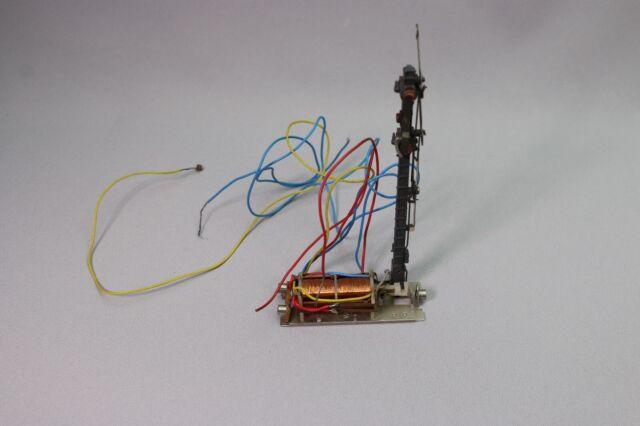 ZB586 Marklin Train Ho 7040 Semaphore signal lumineux principal 2 palettes