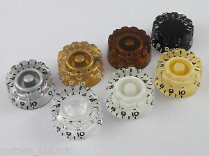 KNURLED-SPEED-DIAL-KNOBS-for-USA-Gibson-Guitar-in-7-Colours