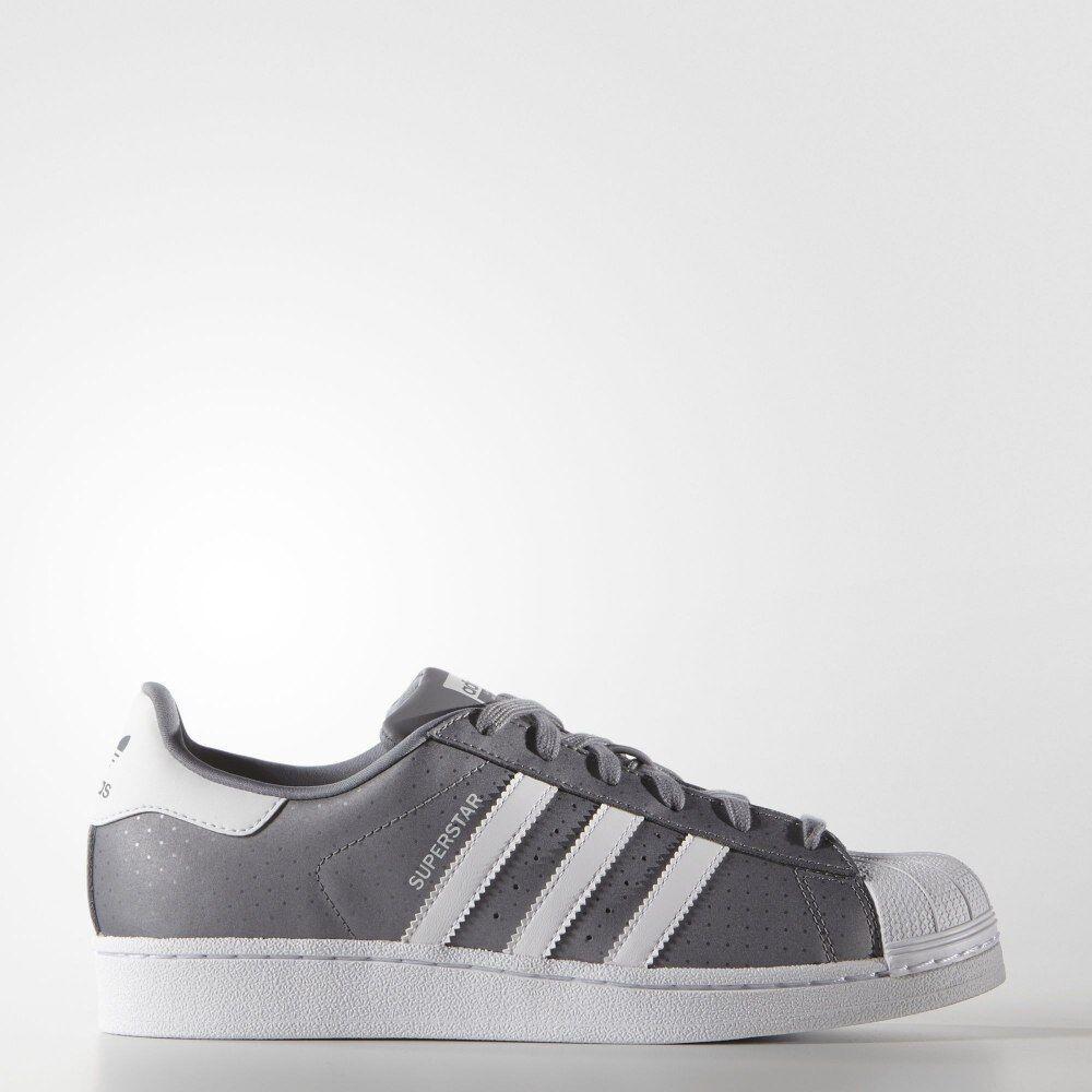 Adidas Originals Superstar S75130 Women's Gray White Comfort Rare