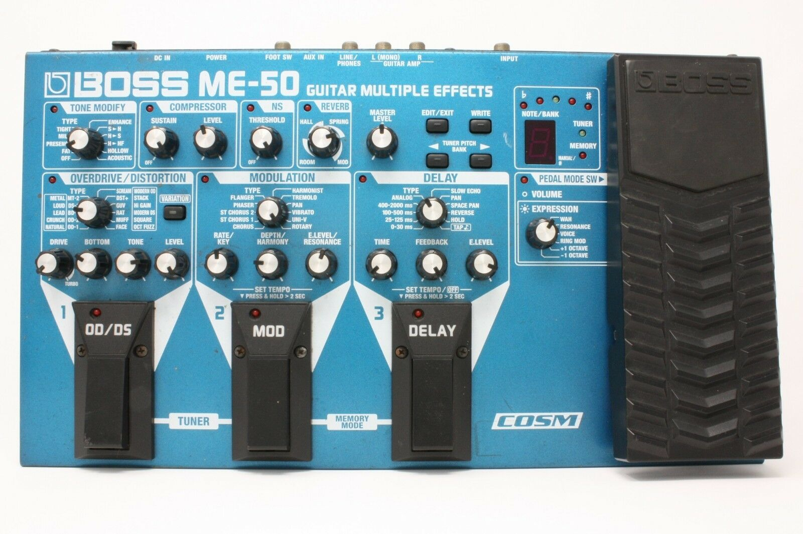 BOSS ME-50 Multi-Effects Guitar Effect Pedal From Japan 0210_190F