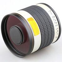 Jintu 500mm f/6.3 Telephoto Mirror Lens f Canon Rebel EOS T3i T2i T1i Xs Xsi Xti