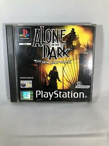 PS1-Alone-In-The-Dark-The-New-Nightmare-Complete-Tested-Working