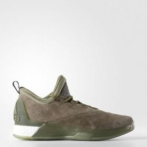sale retailer d0977 4d5e7 Image is loading NEW-adidas-CRAZYLIGHT-BOOST-2-5-Cargo-James-