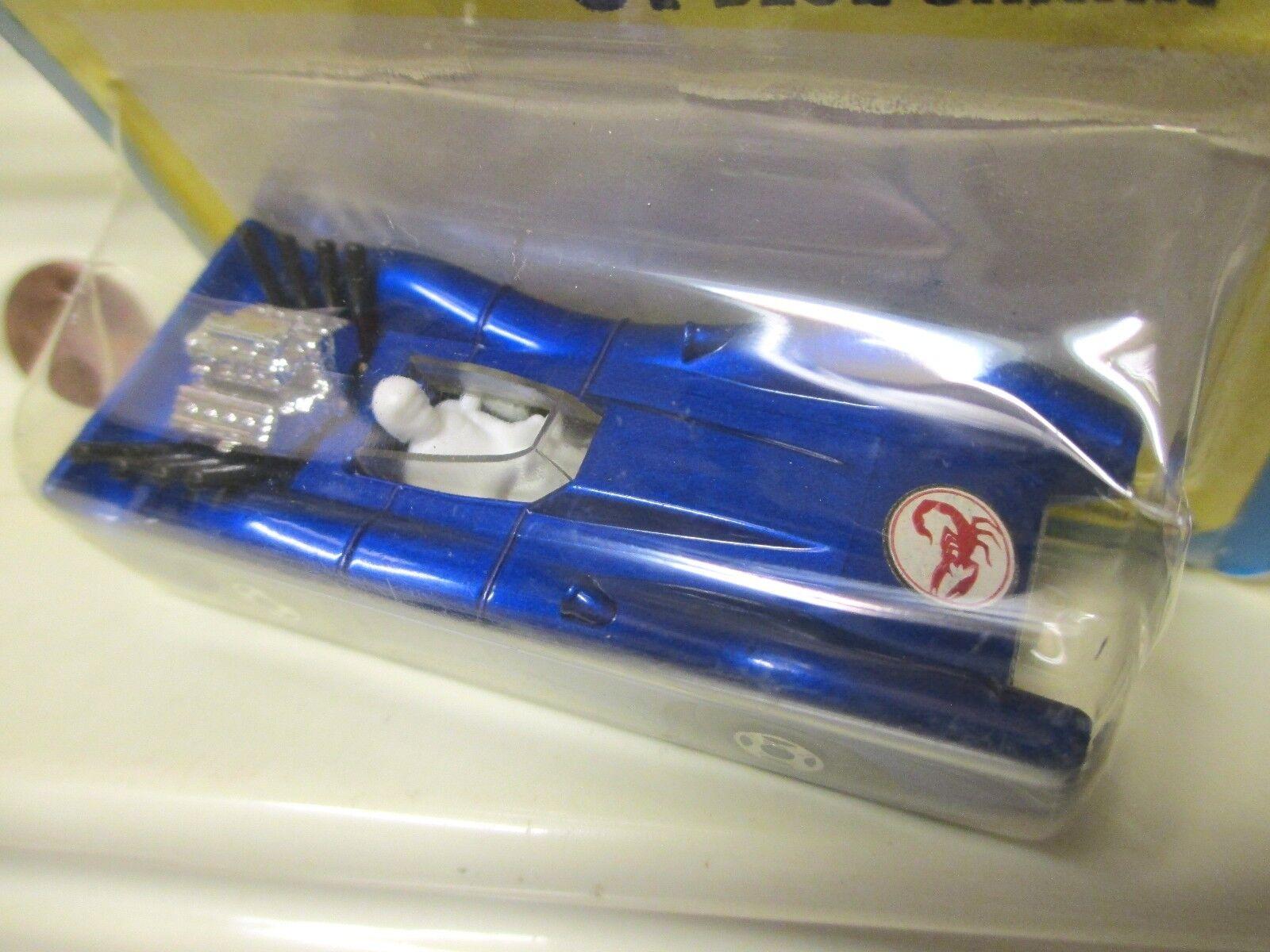 LESNEY MATCHBOX 1971 MB61A blu SHARK With SCORPION LABEL + CLEAR WINDOW MIMP*