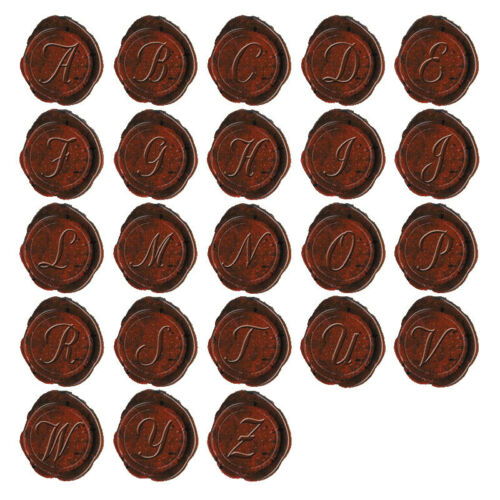 Letter I Authentic Models MG200I Classic Alphabet Initial Wax Seal Stamp