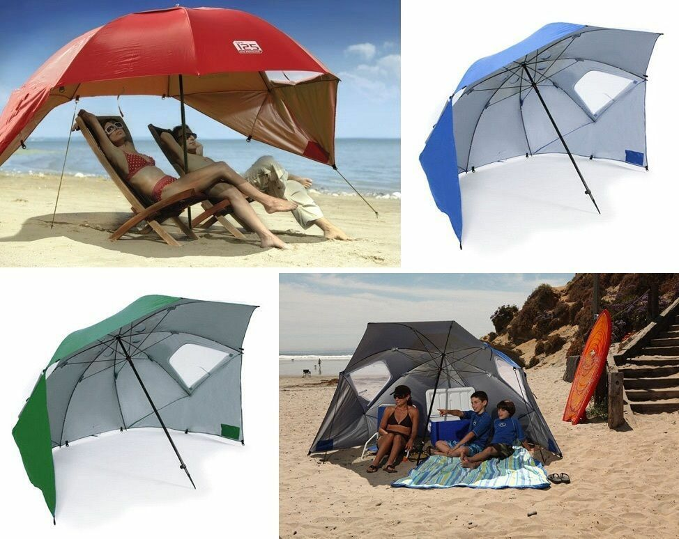 Umbrella Portable Sun Weather Outdoor Beach Travel Sports Summer Camping Pool