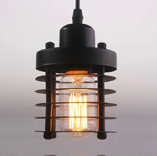 Industrial Hanging Ceiling Light Pendant Lamp Shade Fixture Chandeliers US STOCK