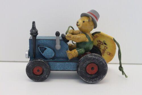 Traktor mit Teddy 563-140h2006 Hubrig Baumbehang Neu 2018